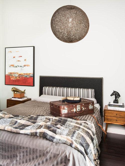 contemporary man cave bedroom design ideas remodels photos houzz