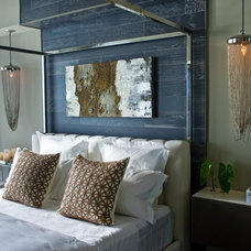 Modern Bedroom by CP Design Build Services