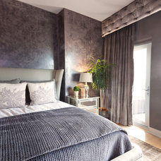 Contemporary Bedroom by Stacy Paulson Design