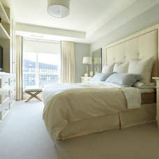 Transitional Bedroom by Parkyn Design