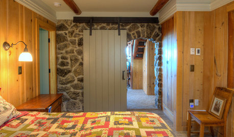 Houzz Tour: Log Cabin on Puget Sound Has More Room to Spare