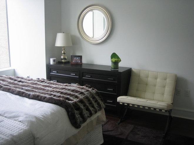 Contemporary Bedroom by Lea Frank Design