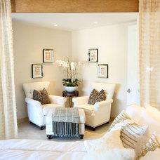 Mediterranean Bedroom by V.I.Photography & Design