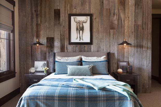 Rustic Bedroom by Reclaimed DesignWorks