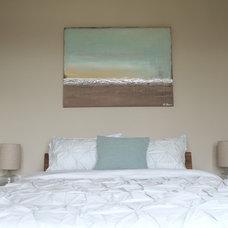 Modern Bedroom by S Squared Design, LLC