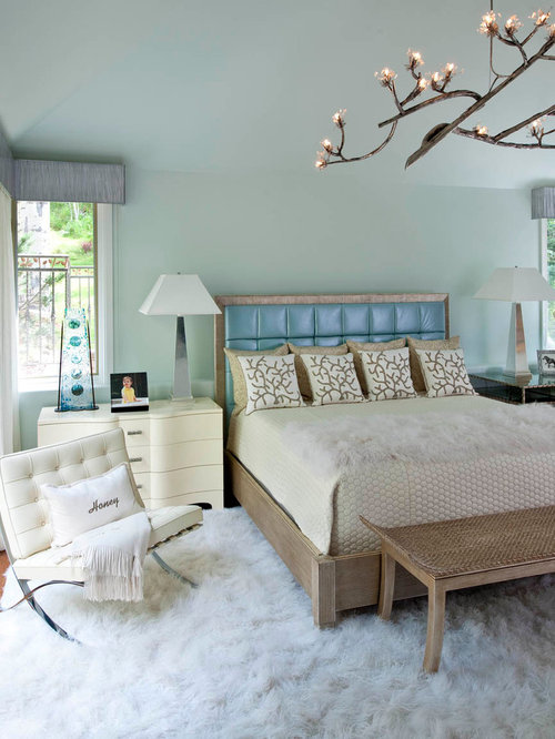 Rustic Bedroom Design Ideas, Remodels & Photos With Blue