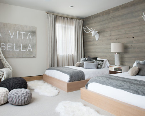 skandinavische g stezimmer mit teppichboden ideen design. Black Bedroom Furniture Sets. Home Design Ideas