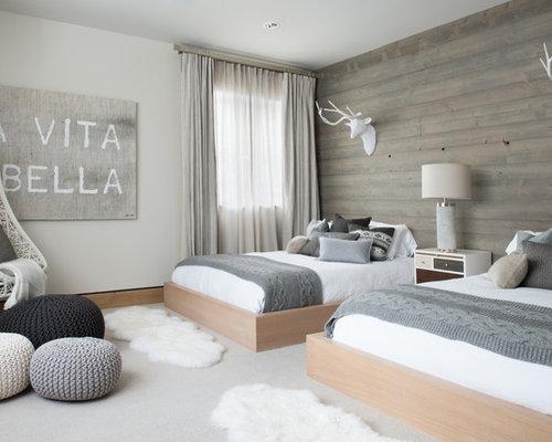Skandinavische schlafzimmer mit teppichboden ideen for Moquette luxe chambre