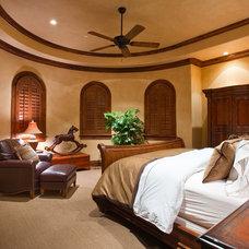 Rustic Bedroom by Ulf & Associates