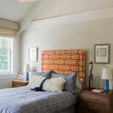 Transitional Bedroom by Jill Litner Kaplan Interiors