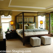 Traditional Bedroom by Vancouver Home Stagers