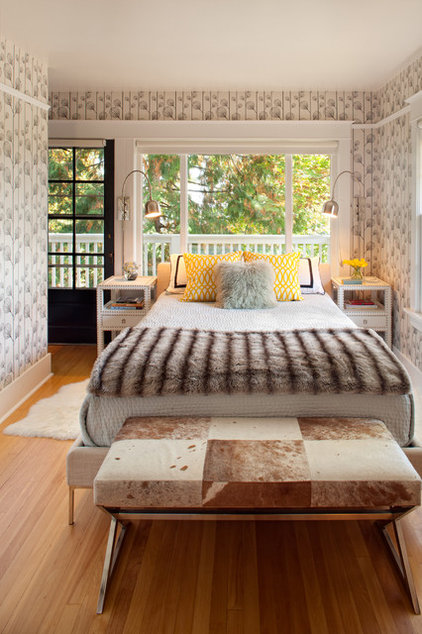 Contemporary Bedroom by Josh Partee | Architectural Photographer