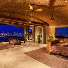 Contemporary Bedroom by Sun West Custom Homes LLC
