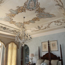 Mediterranean Bedroom by Axelband Decorative Paint Finishes