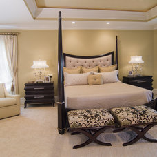 Contemporary Bedroom by Carolina Design Associates, LLC
