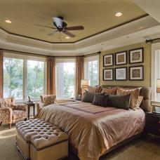 Contemporary Bedroom by Carolina Design Associates, LLC