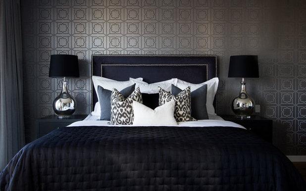 Fusion Bedroom by Santamaria Design