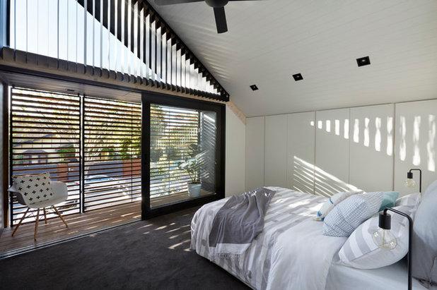 Contemporáneo Dormitorio by smarterBATHROOMS+