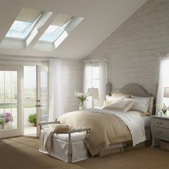 traditional bedroom by VELUX