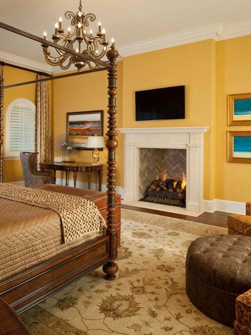Yellow Bedroom | Houzz