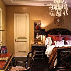 Mediterranean Bedroom by Joni Herman - Renaissance Studios, Muralist