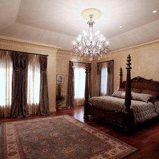 Mediterranean Bedroom by John Henry Architect
