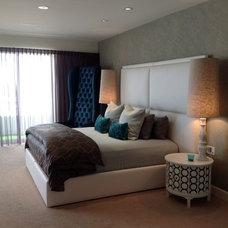 Contemporary Bedroom by Amato Design Inc.