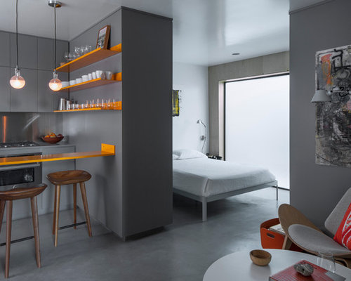 images of contemporary bedrooms studio apartment houzz 15627