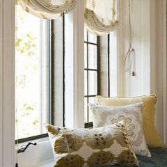 contemporary bedroom by Elizabeth Dinkel