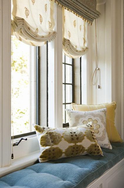 Contemporary Bedroom by Elizabeth Dinkel