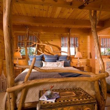 Vermont Timber Frame Residence