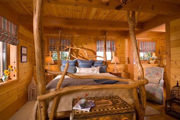 Eclectic Bedroom by Laurel Feldman Interiors, IIDA