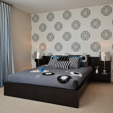 Contemporary Bedroom by Concept to Design Inc.