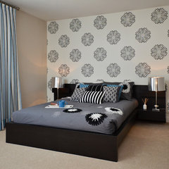 contemporary bedroom by Concept to Design