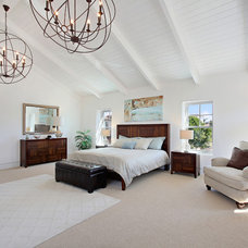Beach Style Bedroom by Home Staging by Carol Roemmer