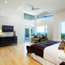 Modern Bedroom by HartmanBaldwin Design/Build