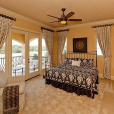 Mediterranean Bedroom by MJS Inc. Custom Home Designs