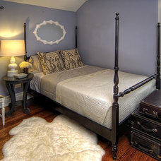 Contemporary Bedroom by Kate Marker Interiors