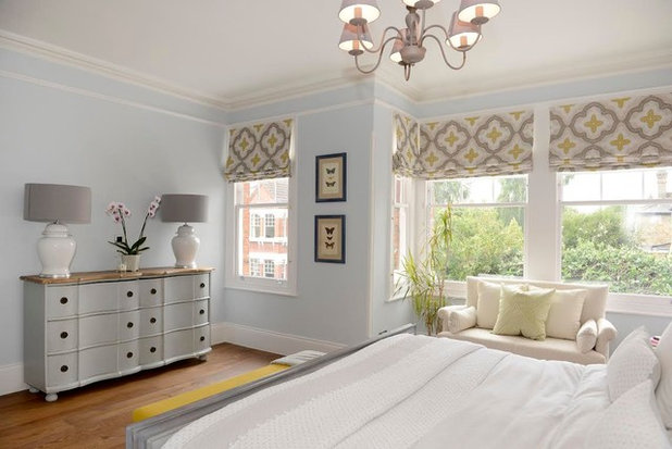 Victorian Bedroom by Ruth Noble Interiors