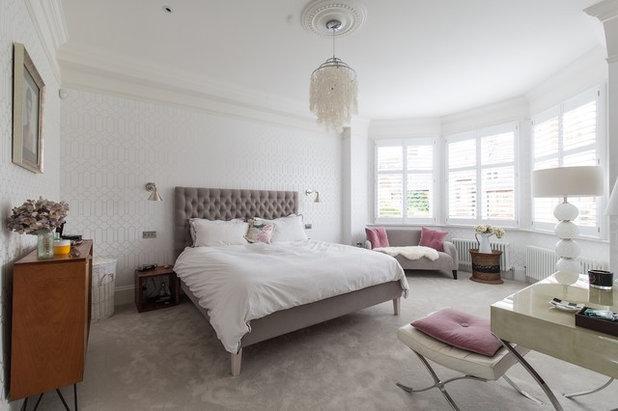 Transitional Bedroom by Laura Butler-Madden