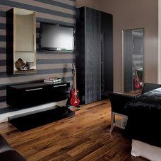 Contemporary Bedroom by Julianne Kelly