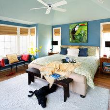 Contemporary Bedroom by AHMANN LLC