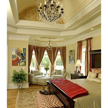 View of masterbedroom of LA RAMIA house plan