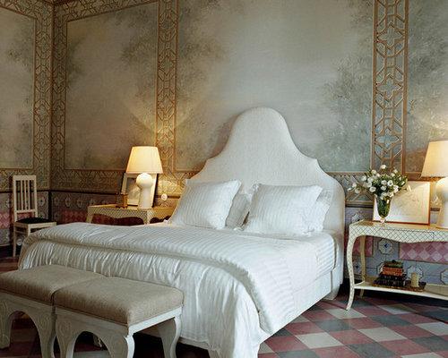 mediterranean bedroom design ideas remodels photos houzz. Black Bedroom Furniture Sets. Home Design Ideas