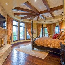 Mediterranean Bedroom by Arc Design Group
