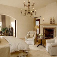 Mediterranean Bedroom by CGN Designs LLC