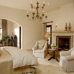 mediterranean bedroom by CGN Designs LLC