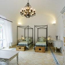 Mediterranean Bedroom by Fabrizia Frezza Architecture & Interiors