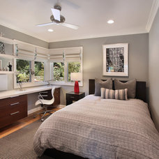 contemporary bedroom by Cathy Morehead