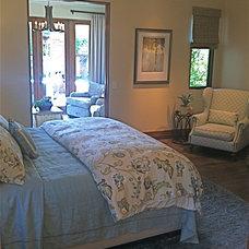 Mediterranean Bedroom by Christopher James Interiors